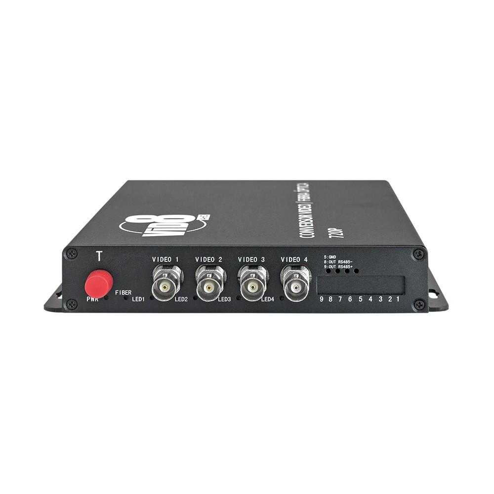 Conversor de vídeo fibra óptica