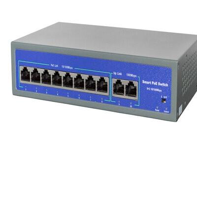 Switch PoE 8 Portas